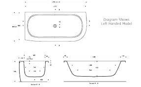 standard size bath tub length bathtubs bathtub sizes gallons width and depth of a standard bathtub dimensions tub length
