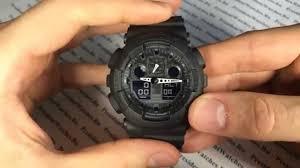 Полная настройка часов <b>GA</b>-100-1A1ER (все функции) - видео от ...