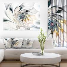 bedroom wall art canvas. Delighful Bedroom White Stained Glass Floral Art  Large Wall Canvas With Bedroom M