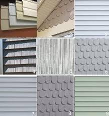 exterior house siding options. vinyl siding colors | shapes and colors-1 exterior house options