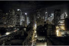 Photo Wallpaper – Manhattan at Night ...