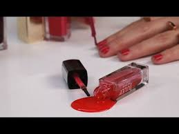 how to get nail polish stains out of