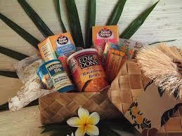 clic flavors of hawaii gift baskets