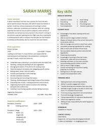Sample Resume For Chef Job Executive Chef Job Description Template
