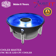 <b>COOLER MASTER I70C</b> BLUE LED <b>CPU</b> COOLER | Shopee Malaysia