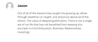 what did you learn from your parents the best iwt reader answers parent lesson 7 value in delayed gratification