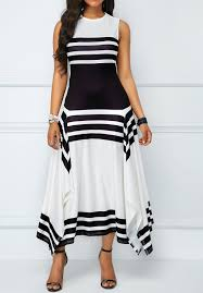 top 10 <b>black and white irregular</b> dress list and get free shipping ...