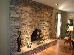 faux stacked stone veneer stack stone veneer fireplace stacked