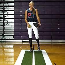 Amazon.com : Jennie Finch Softball Pitching Lane Pro : Baseball ...