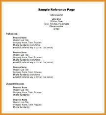 References On A Resume Inspiration Listing References On Resume Simple Professional Reference Template