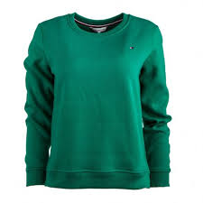 Check spelling or type a new query. Sweat Vert Col Rond Manches Longues Femme Tommy Hilfiger A Prix