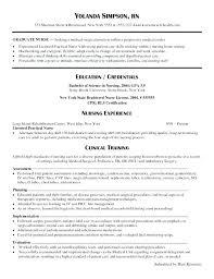 Nursing Resume Objectives resume Registered Nurse Resume Objective Examples Nursing Student 64
