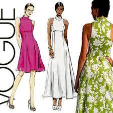 Vogue Dress Patterns Simple Shop Vogue Evening Dress Patterns On Wanelo