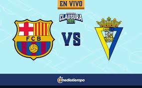 Barcelona vs Cádiz en vivo y online: Jornada 24 de LaLiga - Mediotiempo