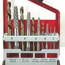 left hand drill bits. 10 piece extractor \u0026 left hand cobalt drill bit set left hand drill bits t