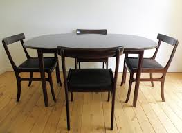 astounding black oval expandable dining room table sets