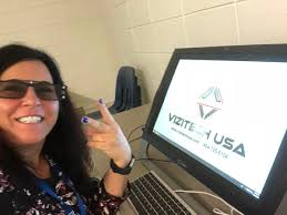 """Beth Zullo on Twitter: """"Having fun with the VR Z Lab @WoodstockMS ..."""
