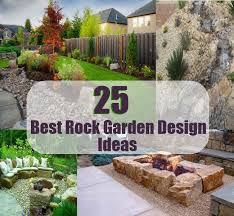 Small Picture Best Rock Garden Design Ideas Diycozyworld Home Improvement