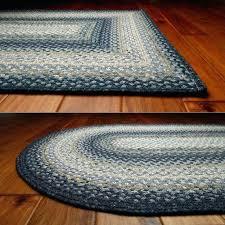 braided kitchen rugs round oval washable rectangular rug