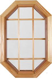 E Clad And Wood Octagon Windows Specifications