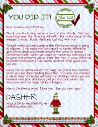 Goodbye Letter Template For Elf The Shelf