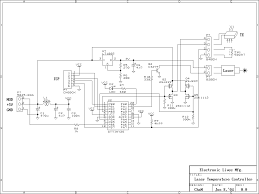 elm home built laser projector circuit diagram · control circuit of green laser unit