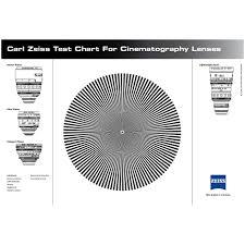 Zeiss 1849 755 Star Test Chart