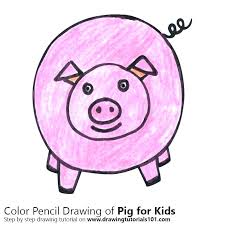 draw a pig face easy pig drawing step by step drawing tutorial on how to draw