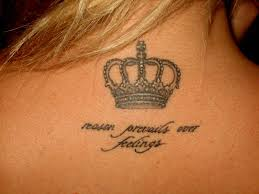значение наколки корона на шее татуировка корона 33 фото значение