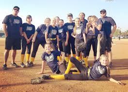 The Kern River Valley 12U softball team – Kern Valley Sun