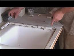 Small Picture Kitchen Tile Basics Installing Tile Around a Kitchen Sink YouTube
