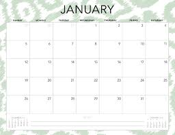 Free 2020 Monthly Calendar Template Free 2020 Printable Calendars 51 Designs To Choose From