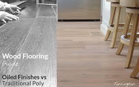 oiled wood flooring parison