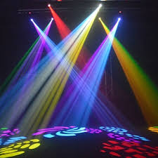 image of led stage lighting effect
