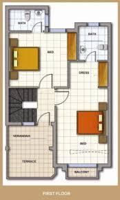 south facing 1250 sqft small house plan