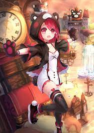 illustration, redhead, anime girls ...