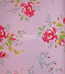 Winter Poppies Romantisch Behangpapier