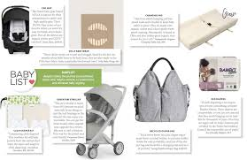 our top picks for eco friendly baby gear