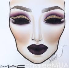 Mac Cosmetics Halloween Face Charts Face Chart Tumblr