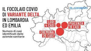 Focolaio variante Delta polo logistico: