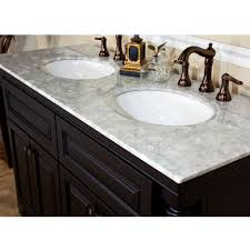 54 inch vanity double sink. bellaterra home 605522a double sink bathroom vanity top 54 inch l
