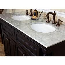 bellaterra home 605522a double sink bathroom vanity top