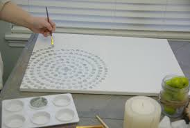 canvas art ideas diy wall low cost way add