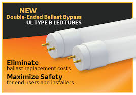 ge double ended ballast bypass led tube ul type b current by ge product s