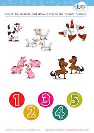 Math-worksheets-for-preschoolers & Number 3 Worksheets