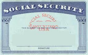 Social Security Card Design History Blank Social Security Card Template Social Security Card