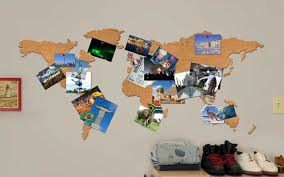 Gallery incredible cork board Kids Pin Them To Cork Map Bulletin Board Rachael Ray 31 Brilliant Ways To Actually Use Your Travel Photos Travel Leisure