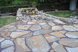 beautiful flagstone patio cost per square foot ton cost of flagstone back yard laying