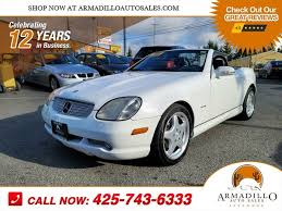 According to mercedes, slk stands for sportlich leicht kurz. in english this means sporty, light and short. Used Mercedes Benz Slk Class For Sale In Puyallup Wa Cargurus