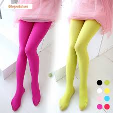 Baby Girl's Pantyhose Fashion Solid 80D Velvet High Quality 18 ...